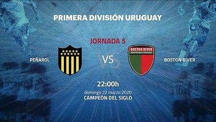 Previa partido entre Peñarol y Boston River Jornada 5 Apertura Uruguay
