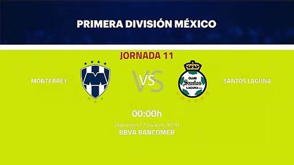 Previa partido entre Monterrey y Santos Laguna Jornada 11 Liga MX - Clausura