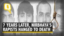 Nirbhaya's Rapists Hanged To Death After Late Night Hearing In SC