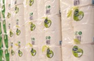 Woman makes own toilet paper amid coronavirus pandemic