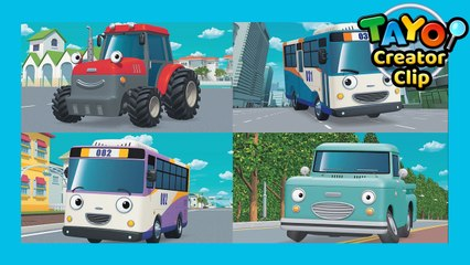 Countryside trip vs. City trip 1 l  Tayo Creator Clip #9 l Tayo the Little Bus