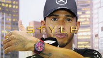 How does Lewis Hamilton, the highest paid racing driver in Formula One history, spend his fortune?