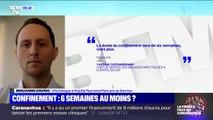 """""""C'est le début en France."""" Un infectiologue de l'hôpital de Garches prévient que si la quarantaine ne fonctionne pas il faudra un confinement plus contraignant"""