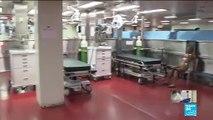 Coronavirus pandemic: US Navy deploys two hospital ships as COVID-19 spreads
