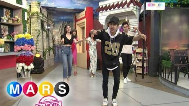 Mars Pa More: Derrick Monasterio and Zonia Mejia dances to the beat of 'Sway with Me'