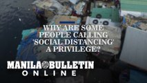 Why are some people calling 'social distancing' a privilege?