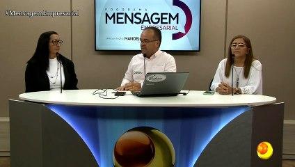 Mensagem Empresarial recebe as duas coordenadoras da escola Vitória Régia - 18/03/2020