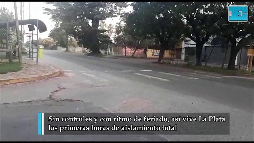 Sin controles y con ritmo de feriado, así vive La Plata el aislamiento total
