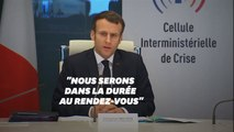 """Emmanuel Macron: """"Nous sommes au début de cette crise"""""""