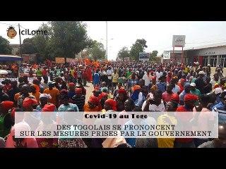 Covid-19: Réactions des Togolais par rapport aux mesures prises par le gouvernement
