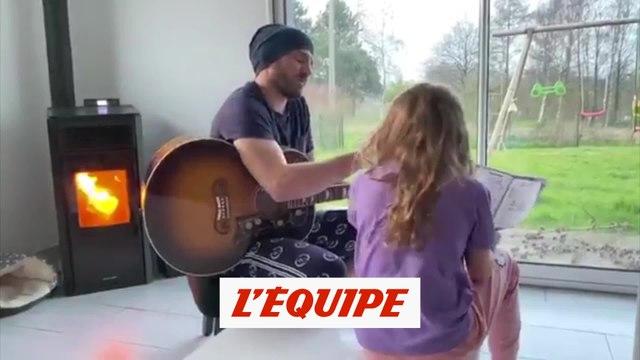 Leca reprend les Corons avec sa fille - Foot - WTF