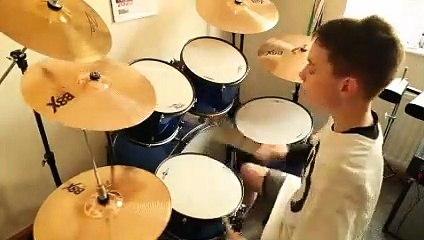 Alex Hemingway  drumming