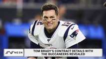 Tom Brady Contract Details With Buccaneers Revealed