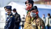 İtalya'da koronavirüs önlemleri kapsamında daha sıkı kontrol için ordu sokağa çıkıyor