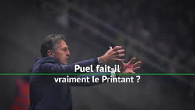 Saint-Etienne - Puel fait-il vraiment le Printant ?