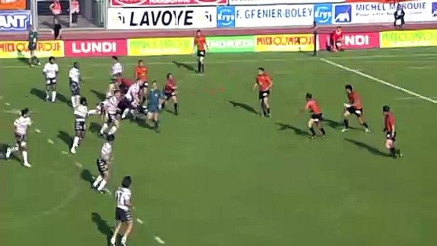 Video : Video - 1 jour 2 essais : l'interception de Jérome Bonvoisin à Narbonne