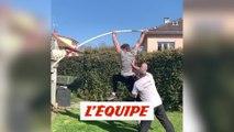 Max Lachiche saute son balcon - Athlé - Perche - WTF