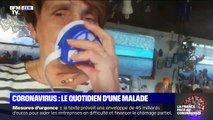 Coronavirus: le quotidien d'une malade