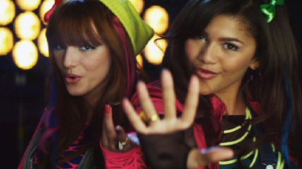 Cast of Shake It Up: Break It Down - Watch Me Featuring Bella Thorne And Zendaya