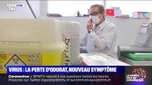 La perte de l'odorat peut être un symptôme du coronavirus