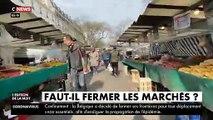VIRUS - Malgré les mises en garde, regardez la foule des grands jours qui se pressait  au marché de Belleville à Paris