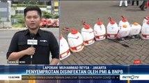 Jadi RS Darurat Covid-19, Wisma Atlet Kemayoran Disemprot Disinfektan