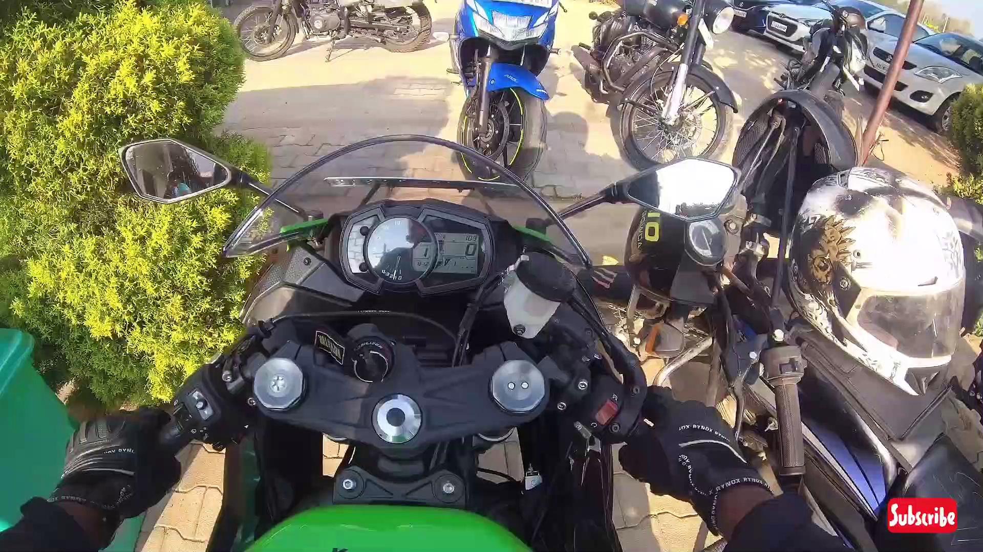 Kawasaki Zx6r review
