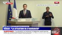 """Selon Olivier Véran, il n'y avait """"aucun stock stratégique d'État en masques FFP2"""" quand le Covid-19 est apparu"""
