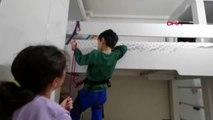 Koronavirüs tatilinde, evde tırmanış eğitimi