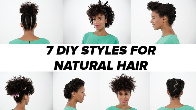 7 Natural Hairstyles You Can Easily Re-Create at Home