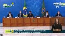 Bolsonaro: 'gripezinha não vai me derrubar'