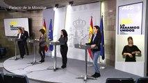 España reporta un 32% más de muertos por coronavirus y busca material médico
