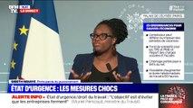"""Aide aux agriculteurs: """"Nous n'entendons pas demander à un enseignant qui aujourd'hui ne travaille pas de traverser toute la France pour aller récolter des fraises"""", précise Sibeth Ndiaye, porte-parole du gouvernement"""