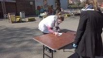 Distribution de masques pour le personnel de soin à domicile - Liège