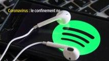 Coronavirus: le confinement ne profite pas vraimentà Deezer et Spotify