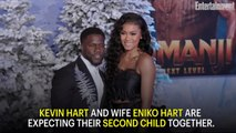 Kevin Hart and Wife Eniko Expecting Second Child Together: 'We're counting our blessings'