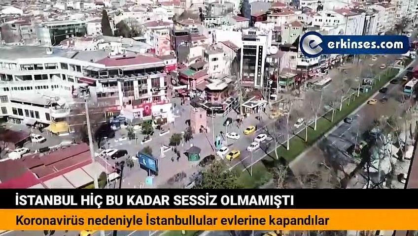 Koronavirüs önlemleri sonrası İstanbul sokakları bomboş kaldı