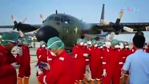 Pesawat TNI Tembus Langit China Ambil 'Alat Perang' Covid-19