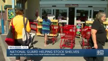National Guard to help stock Arizona grocery stores