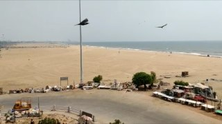 Janta Curfew in Chennai's hotspots- Kamaraj Nagar, Marina Beach & International Airport