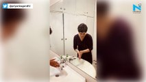 Coronavirus in India: Priyanka Gandhi demonstrates how to wash hands properly