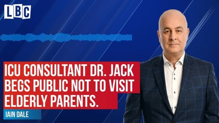 Dr. Jack tells Iain Dale that public must stay away from mothers today