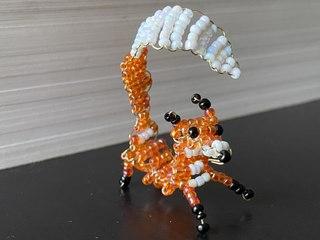 Un joli renard en perles à réaliser en famille