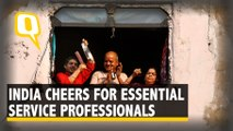 People Across India Cheer For Essential Service Professionals on PM Modi's Request