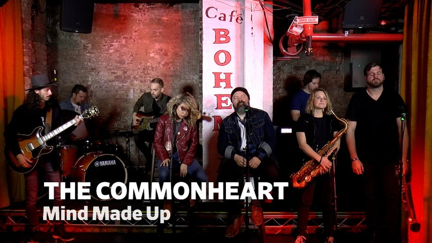 """Dailymotion Elevate: The Commonheart - """"Mind Made Up"""" live at Cafe Bohemia, NYC"""