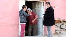 Sokağa çıkmayan yaşlıların ihtiyaçları muhtardan