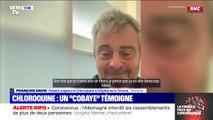 """Chloroquine: un patient """"cobaye"""" témoigne"""