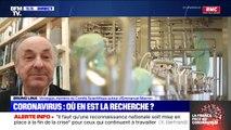 """Chloroquine: pour le professeur Bruno Lina, """"on a l'impression que ça peut marcher, mais aujourd'hui on n'en a pas la preuve"""""""