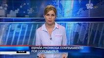 Gobierno español extiende confinamiento por coronavirus