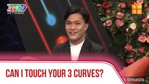 Can I touch your 3 curves?